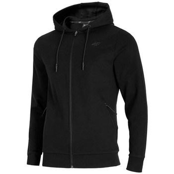 Oblačila Moški Puloverji 4F BLM016 Črna