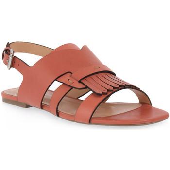Čevlji  Ženske Sandali & Odprti čevlji Miss Unique UNIQUE   PEACH CALF Rosa