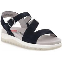 Čevlji  Ženske Sandali & Odprti čevlji Jana SANDAL NAVY Blu