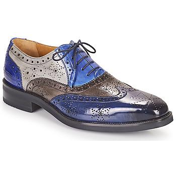 Čevlji  Moški Čevlji Derby Melvin & Hamilton JEFF 28 Modra