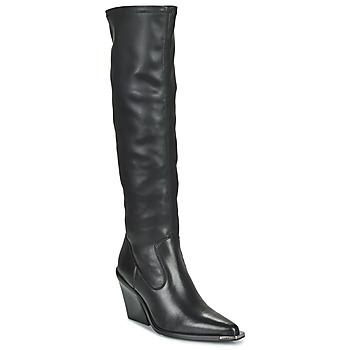 Čevlji  Ženske Mestni škornji    Bronx NEW KOLE Črna