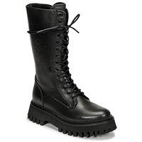 Čevlji  Ženske Polškornji Bronx GROOV Y Črna