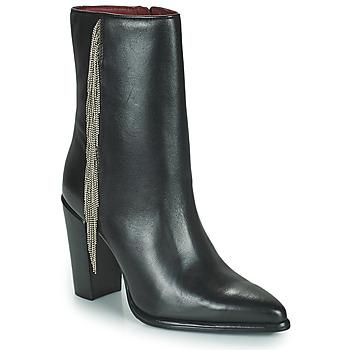 Čevlji  Ženske Mestni škornji    Bronx NEXT AMERICANA Črna
