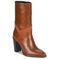 Čevlji  Ženske Mestni škornji    Bronx NEXT AMERICANA Kostanjeva