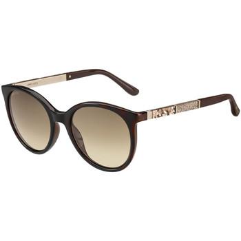 Ure & Nakit Ženske Sončna očala Jimmy Choo  Kostanjeva