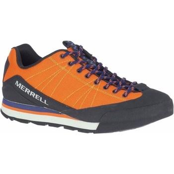Čevlji  Moški Pohodništvo Merrell Catalyst Storm Oranžna