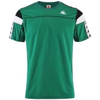 Oblačila Moški Majice s kratkimi rokavi Kappa Banda Arar Zelena
