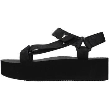 Čevlji  Ženske Sandali & Odprti čevlji Windsor Smith PEEPED BLACK