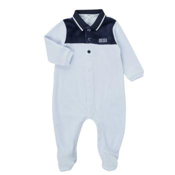 Oblačila Dečki Pižame & Spalne srajce BOSS FILOMENA Modra