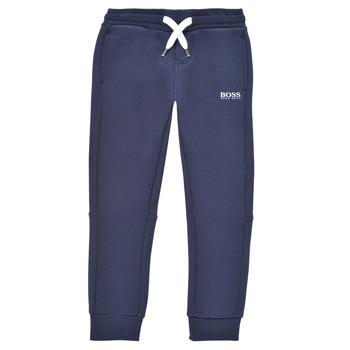 Oblačila Dečki Spodnji deli trenirke  BOSS PATELIN Modra