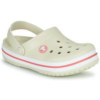 Čevlji  Otroci Cokli Crocs CROCBAND CLOG K Bež / Oranžna