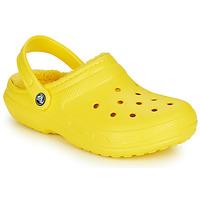 Čevlji  Cokli Crocs CLASSIC LINED CLOG Rumena