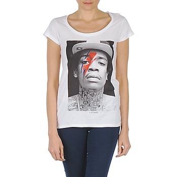 Oblačila Ženske Majice s kratkimi rokavi Eleven Paris KALIFA W Bela