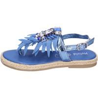 Čevlji  Deklice Sandali & Odprti čevlji Holalà BH18 Modra