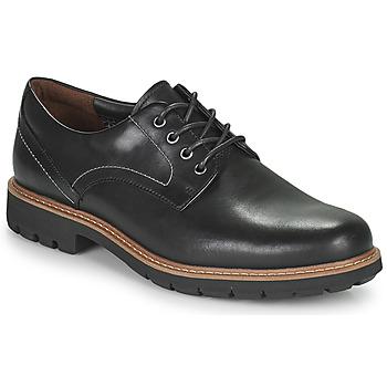 Čevlji  Moški Čevlji Derby Clarks Batcombe Hall Črna