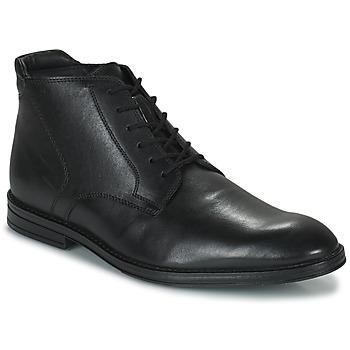 Čevlji  Moški Polškornji Clarks CITISTRIDERISE Črna