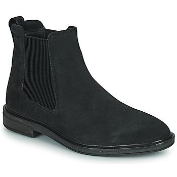 Čevlji  Moški Polškornji Clarks CLARKDALE HALL Črna