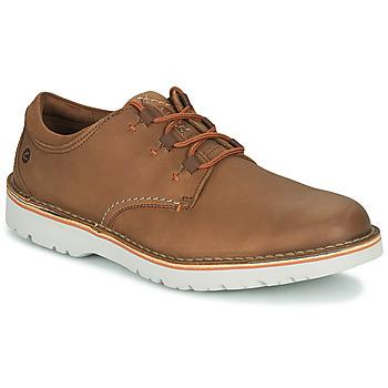 Čevlji  Moški Čevlji Derby Clarks EASTFORD LOW Kamel
