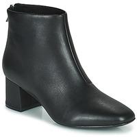Čevlji  Ženske Gležnjarji Clarks SHEER55 ZIP Črna