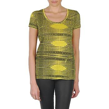 Oblačila Ženske Majice s kratkimi rokavi Eleven Paris DARDOOT Rumena