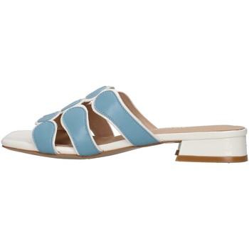 Čevlji  Ženske Natikači Luciano Barachini GL292O WHITE