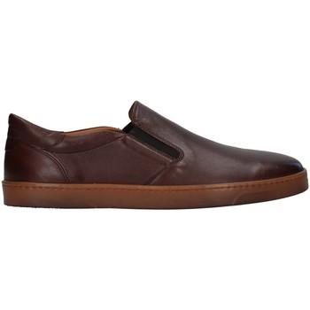 Čevlji  Moški Mokasini Rossano Bisconti 353-10 BROWN