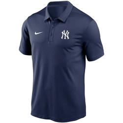 Oblačila Moški Polo majice kratki rokavi Nike Polo Team Logo Franchise Performance New York Yankees bleu navy