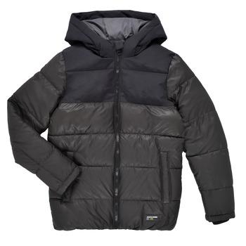Oblačila Dečki Puhovke Jack & Jones JJVENUS HEAVY PUFFER Črna