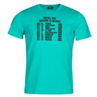 Oblačila Moški Majice s kratkimi rokavi Diesel T-DIEGOS Modra