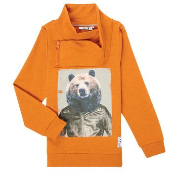 Oblačila Dečki Puloverji Name it NKMKUVAU LS SWE Oranžna