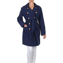 Oblačila Ženske Trenči Lola MALIN VENTO Modra