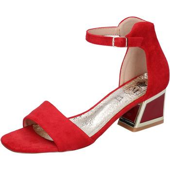 Čevlji  Ženske Sandali & Odprti čevlji Francescomilano BH35 Rdeča