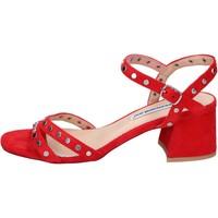 Čevlji  Ženske Sandali & Odprti čevlji Francescomilano BH38 Rdeča