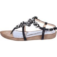 Čevlji  Ženske Sandali & Odprti čevlji Francescomilano BH42 Črna