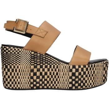 Čevlji  Ženske Sandali & Odprti čevlji Paola Ferri D7421 BEIGE