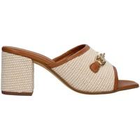Čevlji  Ženske Natikači Paola Ferri D7431 BEIGE