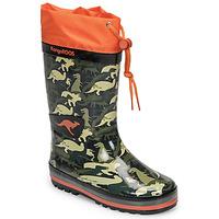 Čevlji  Dečki škornji za dež  Kangaroos K-RAIN Kaki