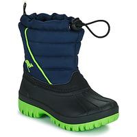 Čevlji  Dečki Škornji za sneg Kangaroos K-BEN Modra / Zelena
