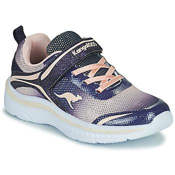 Čevlji  Deklice Nizke superge Kangaroos K-MAID GLEAM EV Modra / Srebrna