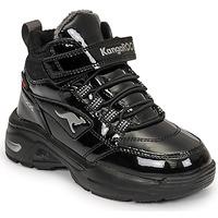 Čevlji  Deklice Visoke superge Kangaroos KC-ICY EV RTX Črna