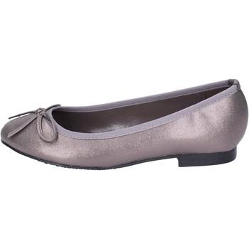 Čevlji  Ženske Balerinke Francescomilano BH55 Siva