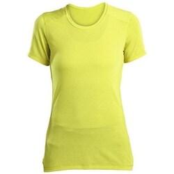 Oblačila Ženske Majice s kratkimi rokavi Saucony SAW800023 Rumena