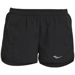 Oblačila Ženske Kratke hlače & Bermuda Saucony SAW800086BK Črna