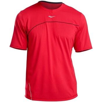 Oblačila Moški Majice s kratkimi rokavi Saucony SAM800214 Rdeča