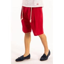 Oblačila Moški Kratke hlače & Bermuda Takeshy Kurosawa  Rdeča