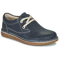 Čevlji  Otroci Čevlji Derby Birkenstock MEMPHIS KIDS Modra