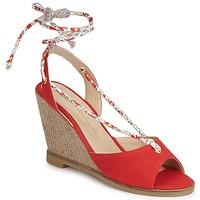 Čevlji  Ženske Sandali & Odprti čevlji Petite Mendigote BLONDIE Rdeča