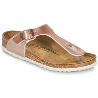 Čevlji  Deklice Japonke Birkenstock GIZEH Rožnata / Pozlačena