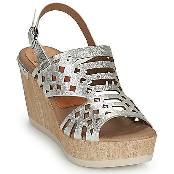 Čevlji  Ženske Sandali & Odprti čevlji Dorking SALMA Srebrna