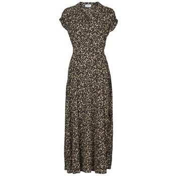 Oblačila Ženske Dolge obleke Betty London  Črna / Večbarvna